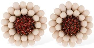 Lizzie Fortunato Sunflower Clip-on Earrings