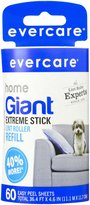 Evercare Giant Lint Roller, Extra Large Sheets Refill