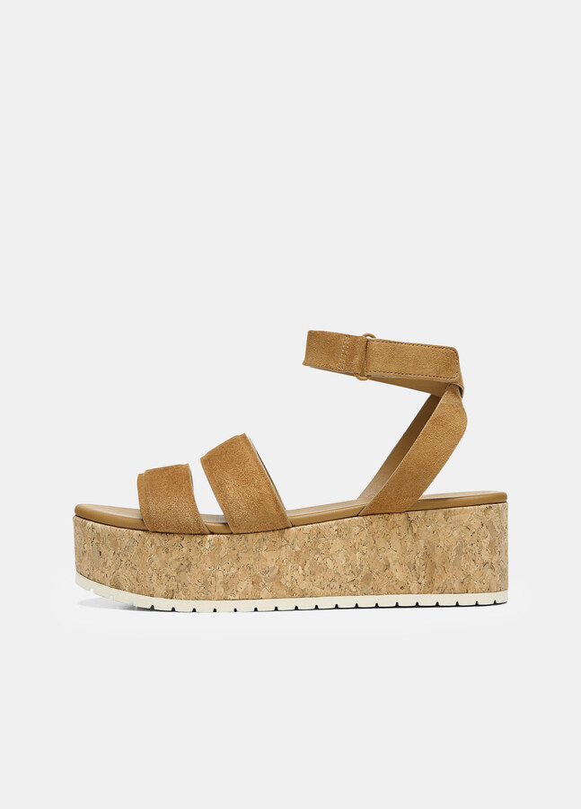 Tan Platform Sandals   Shop the world's