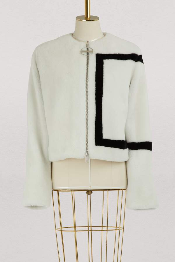 Givenchy Shearling short jacket