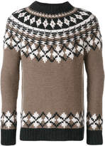 Pringle hand-knitted fairisle jumper