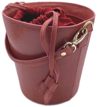Neyuh Leather The Bucket Bag Red
