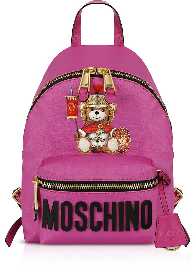Moschino Teddy Bear Nylon Backpack