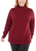 Karen Scott Plus Size Mock-Neck Sweater, Created for Macy's