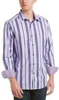 Robert Graham Glendora Tailored Fit Woven Shirt.