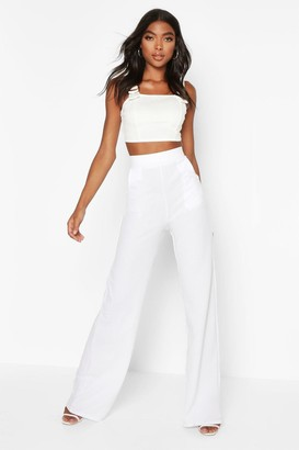 boohoo Tall High Waisted Pants