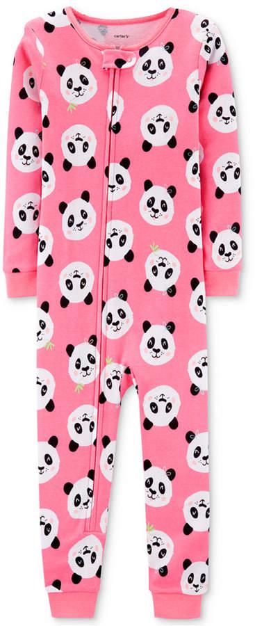 Carter's Carter Toddler Girls Cotton Panda Pajamas