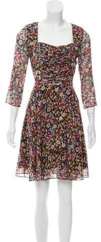 The Kooples Printed Mini Dress w/ Tags