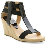 Andre Assous Pippi Patent Leather Wedge Sandals