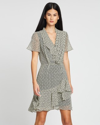 Reiss Paris Desert Trail Print Dress