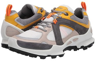 Ecco Sport Sport BIOM C Trail Runner (Gravel/Merigold/White) Men's Shoes