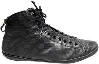 Louis Vuitton Black Leather Trainers