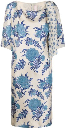 Antonio Marras Floral-Print Shift Dress