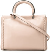 Max Mara round handle tote - women - Leather - One Size