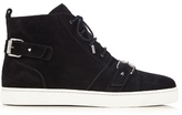 Christian Louboutin Nono Suede High-top Trainers