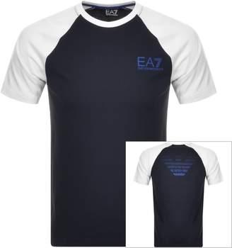Emporio Armani Ea7 EA7 7 Colours T Shirt Navy