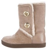 Tory Burch Ginger Shearling Boots