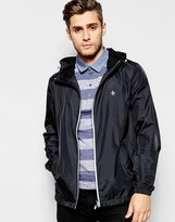 Original Penguin Zip Through Bomber Jacket - Black
