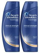 Head & Shoulders Head and Shoulders Clinical Strength Dandruff and Seborrheic Dermatitis Shampoo, 13.5 Fl Oz (Pack of 2)