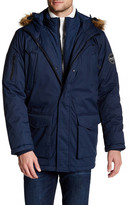 Hawke & Co Faux Fur Trim Hooded Jacket