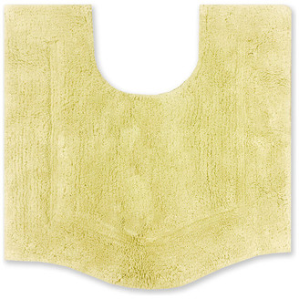 "Home Weavers Inc. Waterford Contour Bath Rug, Yellow, 20""x20"""