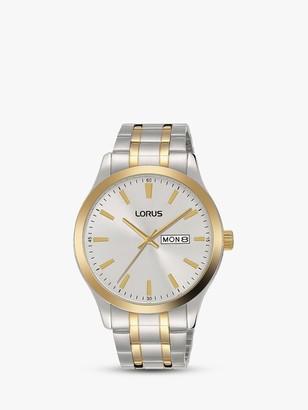 Lorus Men's Bracelet Strap Watch, Silver RH346AX9