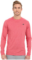 New Balance Long Sleeve Heather Tech Tee