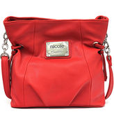 Nicole Miller Nicole By Marie North/South Crossbody Bag