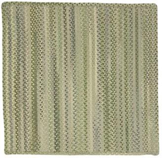 Pottery Barn Preston Square Braided Wool Rug - Taupe Multi