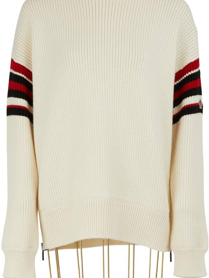Moncler Striped wool sweater