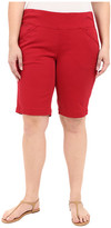 Jag Jeans Plus Size Ainsley Classic Fit Bermuda in Bay Twill
