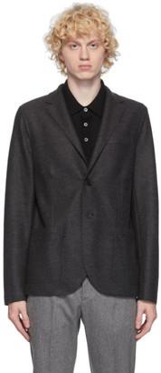 Harris Wharf London Grey Wool Blazer
