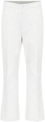 Jil Sander Cotton-twill flared pants