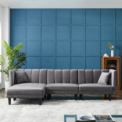 Grey Velvet Sofa Shop The World S Largest Collection Of Fashion Shopstyle