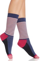 Happy Socks Colorblock Stripe Crew Socks