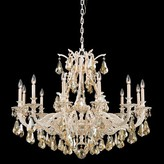 Schonbek Sophia 12-Light Candle Style Classic / Traditional Chandelier Finish: Heirloom Bronze, Crystal: Clear Spectra