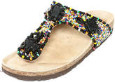 Maliparmi Beaded Thong Sandal