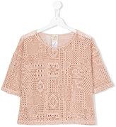 Caffe' D'orzo - Nadia blouse - kids - Cotton/Polyamide - 14 yrs
