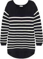 Chinti and Parker Striped merino wool sweater