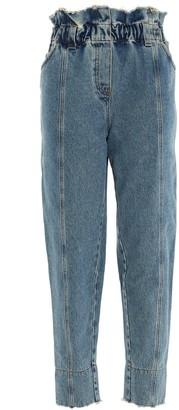 Philosophy di Lorenzo Serafini Paper Waist Straight Leg Jeans