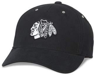 American Needle NHL Chicago Blackhawks Brushed Baseball Cap