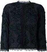 Vanessa Bruno floral lace detailing blouse