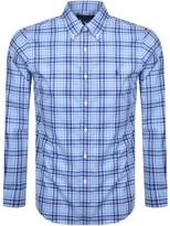 Ralph Lauren Slim Fit Poplin Shirt Blue