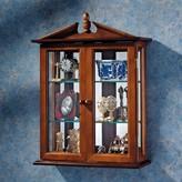 Toscano Amesbury Manor Wall-Mounted Curio Cabinet Design