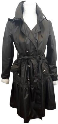 Blumarine Black Trench Coat for Women