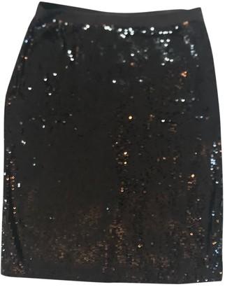 Claudie Pierlot Black Glitter Skirt for Women