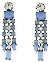 Tom Binns Neopolitano Crystal Drop Earrings