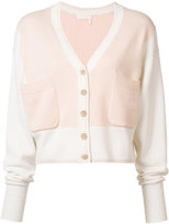 Chloé cashmere two tone cardigan - women - Cashmere - S