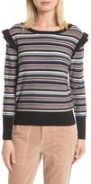 Joie Women's Cais C Stripe Wool & Cashmere Sweater