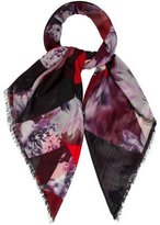 Elie Saab Cashmere Abstract Print Scarf